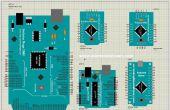 Arduino Nano, Pro, mini, Uno, 1280,2560 bibliothèque pour Proteus (mise à jour version)