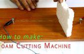 MACHINE de découpe de mousse