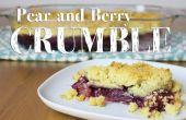 Comment faire des poires et Berry s'effriter
