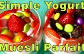 Yogourt Simple maison & Muesli Parfait recette