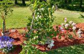 Treillis jardin bricolage
