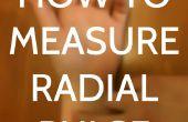 Comment mesurer le pouls Radial
