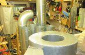 """Budget bricolage 18"""" Cyclone Dust Separator/collecteur de poussières"""