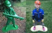 En matière plastique armée homme vivant Statue Costume