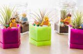 Comment faire des mini planteur en pot de verre pour décorer votre espace d'apprentissage