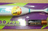 Bot II - des poils d'une brosse à dents électrique bon marché
