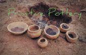 Cuisson de poterie Primitive bricolage