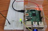 Comment faire votre premier Simple conduit Blink projet en framboise Pi2