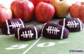 Comment des Bouquets de fruits faire chocolat couverts Football pommes