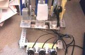 Auto-apprentissage roche - papier - ciseaux Robot Lego Mindstorms NXT !