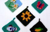 Maniques de bonneterie inspiré des années 1970