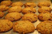 Biscuits au beurre d'arachide miel moelleux avec une croûte de biscuits Graham