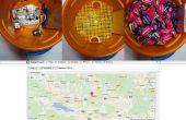 Halloween bol/Bag GPS Tracker