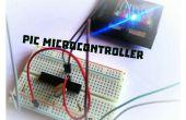 Comment clignoter une Led à l'aide de microcontrôleur PIC ?