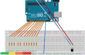 Barre de température dirigée Arduino