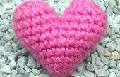 Crochet « Gonflés » 3D coeur