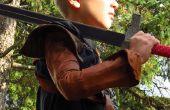 Jouer les vêtements de cuir pour un enfant difficile (Bran Stark manches)