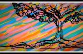 Jouer avec la peinture