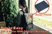 Super facile A DIY solaire USB chargeur sac à dos !