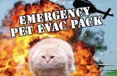 D'évacuation d'urgence pour animaux de compagnie Pack