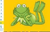 Comment dessiner Kermit la grenouille (Muppet)