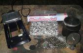 Faisant l'allemand Dark aluminium poudre de feuille
