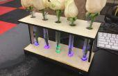 Vase tube à essai LED