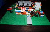 LittleBits Lego maison avec porte de garage, les moulins à vent et sonnette