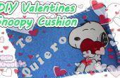BRICOLAGE Saint-Valentin : Snoopy Cushion
