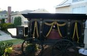 Antique Horse Drawn corbillard - Halloween Prop Replica