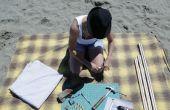 Ombre de portable Beach