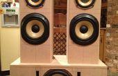 Haut-parleurs Hifi antenne + caisson de basse