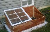 Hivérisez votre jardin avec un chassis froid