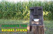 Tiki Rocket Stove en béton