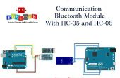 Module de communication Bluetooth avec HC-05 HC-06