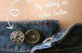 Ajouter un bouton supplémentaire à votre jeans pour le meilleur ajustement