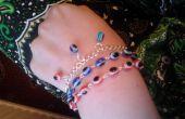 Evil Eye bracelet perlé
