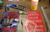 Livre creux. Construction rapide et facile pour la table de chevet