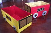Duct Tape & couche-culotte boîte Fire Engine