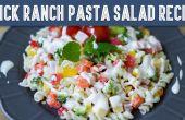 Salade de pâtes Ranch rapide