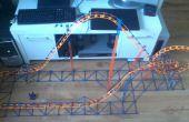 Bande de caoutchouc Knex lancé micro roller coaster