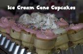 Faire les Cupcakes de cône de crème glacée