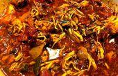 Mijoteuse Pot poulet Cacciatore (ragoût de Hunter)