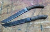 Râpe et couteau de poivrier