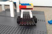 LEGO voiture de course, remorque de voiture de course et camion