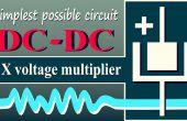 Doubleur de tension DC-DC (plus simple circuit possible)