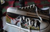 Peinture de chaussures