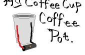 Tasse café Cafetière