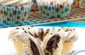 Gousse de vanille biscuit beurre coupe Cupcakes