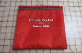Comment faire une Double poche pour une jupe de neige